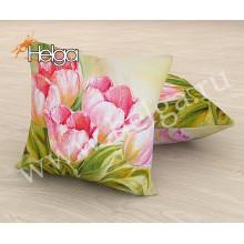 Розовые тюльпаны холст 2 Арт.2826-П